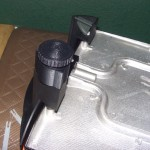 Threaded adjustment feet for electric griddle